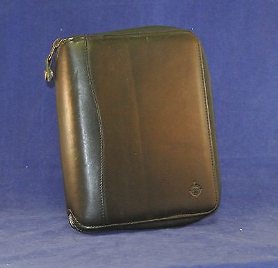 1.25 Rings Black Compact Nappa Leather Franklin Covey Plannerbinder