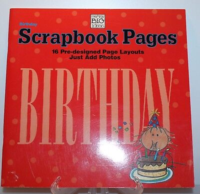 Me and My Big Book Ideas Birthday Scrapbook 16 Already Created Pictures New - Birthday Scrapbook Ideas