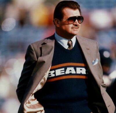 Mike Ditka With Dark Glasses 8x10 Picture Celebrity (Ditka Glasses)