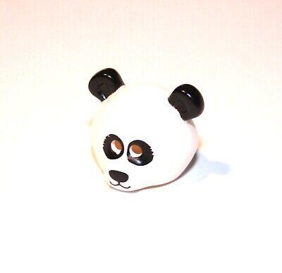 1x LEGO® Minifiguren-Maske Panda Bär Kopfbedeckung Kostüm 15506 NEU Weiss - Panda Bär Kopf Kostüm