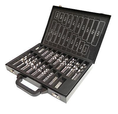 170 tlg. Spiralbohrer SET Metallbohrer DIN 338 geschliffen 1-10 x 0,5 mm HSS-G