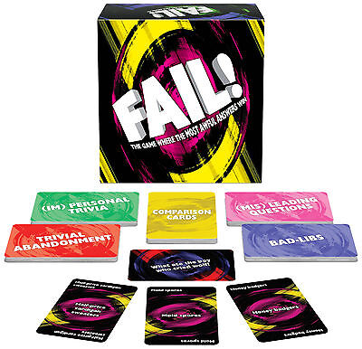 FAIL ADULT GROUP GAME FUN FOR PEOPLE WHO ENJOY CARDS AGAINST HUMANITY ()