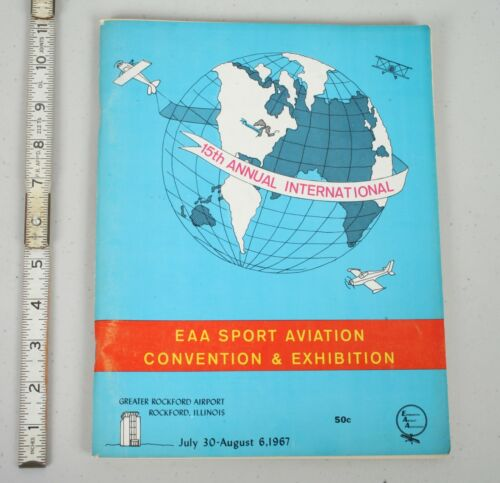EAA Experimental Aircraft Association Fly-In Convention Program 1967 Rockford