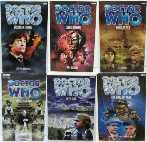 1997-05 Doctor Who Past Doctors Adventures PB Book Collection-Your Choice of 35+