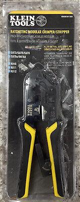 Klein Tools Ratcheting Modular Crimper Stripper Vdv226-011-sen - Brand New