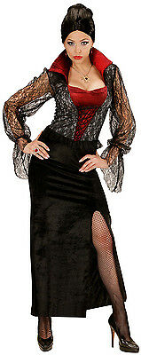 Vampiressa Vampir Königin Kostüm NEU - Damen Karneval Fasching Verkleidung Kostü