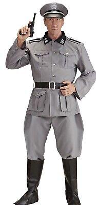 WIM 44721 Deutscher Soldat Soldier Kämpfer WW2 Fasching Karneval Herren - Deutschen Herren Kostüm