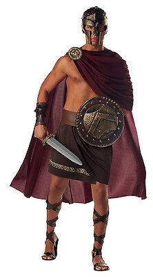 Adult Spartan Warrior Greek Roman Costume  - Mens Greek Spartan Warrior Costume