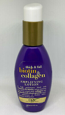OGX Thick & Full Biotin & Collagen Amplifying Lotion, 4