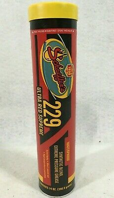 Schaeffers Moly 229 Ultra Red Supreme Grease 14oz. Tube Extreme Pressure Heat