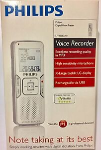 Philips Voice Recorder LFH0662/40 Naremburn Willoughby Area Preview