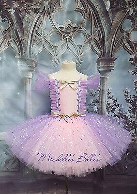Rapunzel Tangled style tutu dress  - Rapunzel Tutu Dress