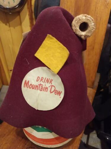 Mountain Dew Vintage marketing hat