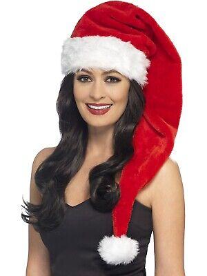 Deluxe Santa Hut Weihnachtsmann Festlich Saisonbedingte Damen - Deluxe Santa Hut