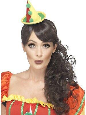 Clowns Cute Clown Hut Erwachsene Damen Circus Carnival Lustiges Kostüm Zubehör (Cute Clown Kostüm)