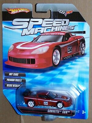 HOT WHEELS SPEED MACHINES CORVETTE  C6R