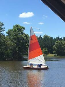 Sail Boat with Trailer, Mast and Accessories Macedon Macedon Ranges Preview