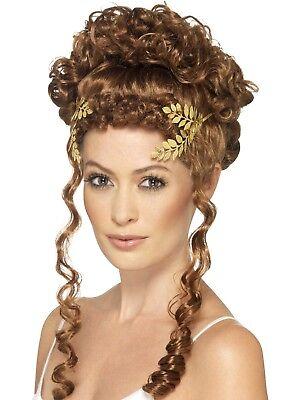 Laurel Blatt Kopfbedeckung Damen Griechische Gold Römische Toga Party Kostüm
