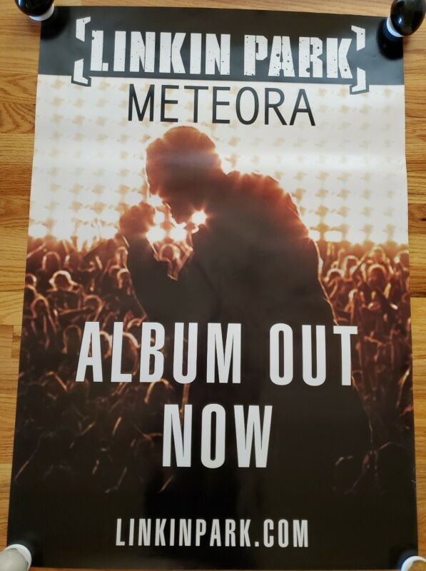 LINKIN PARK - Meteora Record Release Poster 2003 PROMO ONLY!! RARE!!!