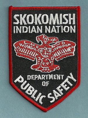 SKOKOMISH NATION WASHINGTON TRIBAL POLICE PATCH