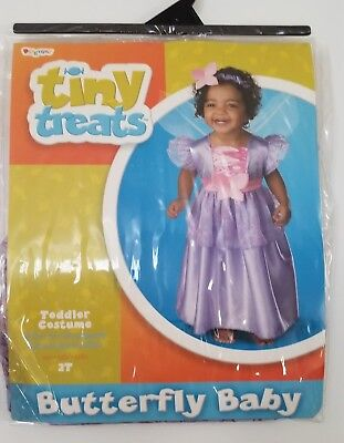 Butterfly Costume 2t (Tiny Treats Butterfly Baby 2T Lavender)