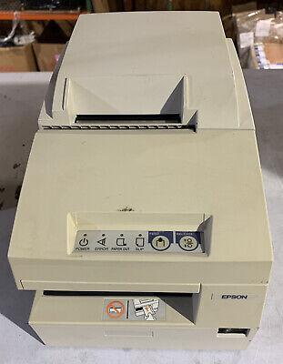 Epson Tm-u675 M146b Pos Receipt Printer - White No Ac Adapter