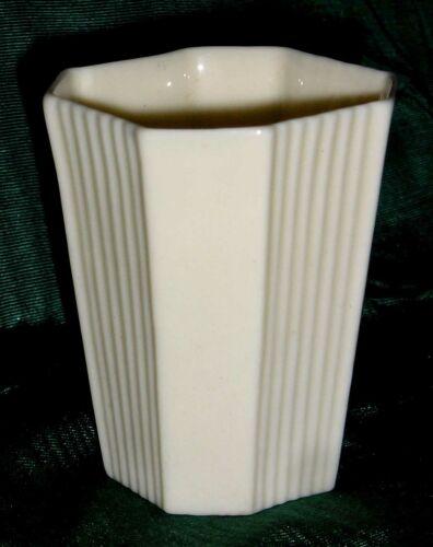 IRISH BELLEEK 3RD BLK RARE SMALL FAN CUP