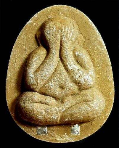 Thai Amulet-Phra Pidta-LP To-Wat Pradoo Shimply-Powder With 2 Takruts
