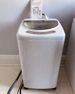 MINT Haier hlp21n portable washer with wheels...can deliver
