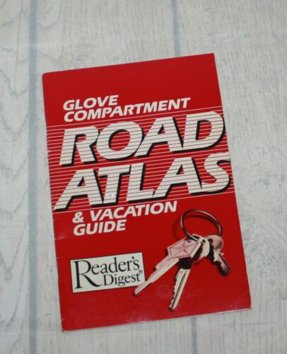 Vintage Readers Digest Glove Compartment Road Atlas 48 Pgs
