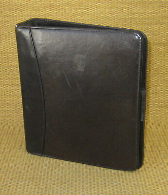 Classic 1.5 Rings Black Leather Franklin Coveyquest Open Plannerbinder Usa