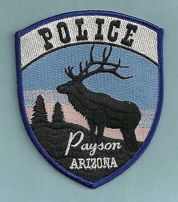 PAYSON ARIZONA POLICE PATCH