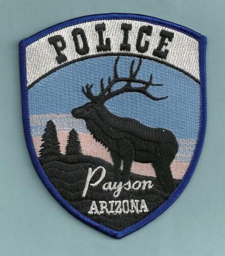PAYSON ARIZONA POLICE SHOULDER PATCH