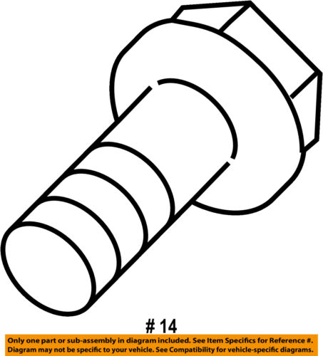 TOYOTA OEM Exhaust-Muffler /& Pipe Bolt 90109A0013