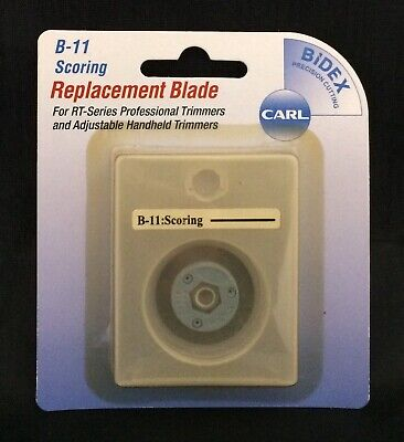 Carl Brands B-11 SCORING Replacement Blade For RT Series Professional Trimmers ()