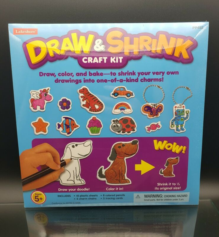 Draw and Shrink Craft Kit age 5+