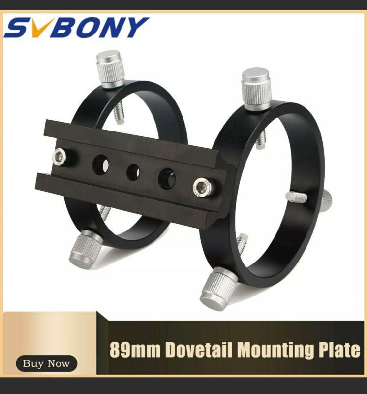 svbony SV116 Guiding Scope Tube Ring Kit Mounted Adjustable of Range 43-70mm