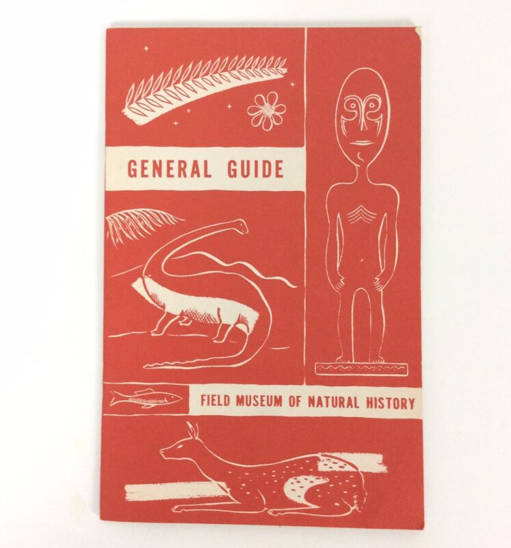 Field Museum General Guide Natural History Chicago IL Marshall Field Bushman