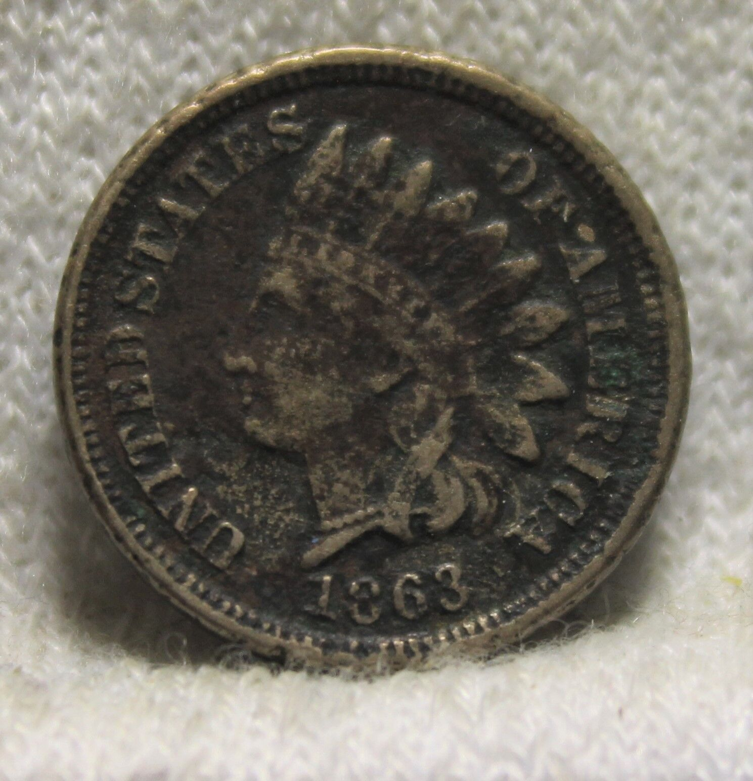 1863 Indian Head Penny - $19.95