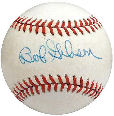 Bob Gibson Autographed Signed NL Baseball St. Louis Cardinals Beckett S75243 Bob Gibson Autographed Baseball