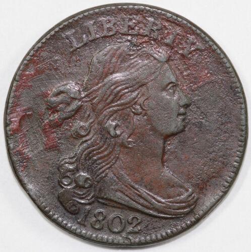 1802 1c Draped Bust Large Cent