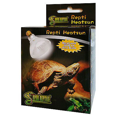 Repti Heatsun 100 Watt, UV Lampe für Terrarium (A94)