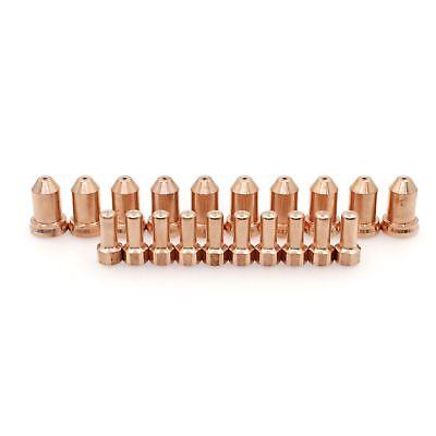 20pcs 52558 Plasma Cutting Torch Electrode 1.0mm Tips 51311.10 Fit Pt80 Ipt-80