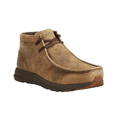 - Ariat® Men's Spitfire Brown Bomber Casual Moccasin Boots 10021723