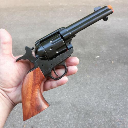 Denix USA Model 1873 Replica Non-Firing Locks Blued Western Fast Draw Revolver