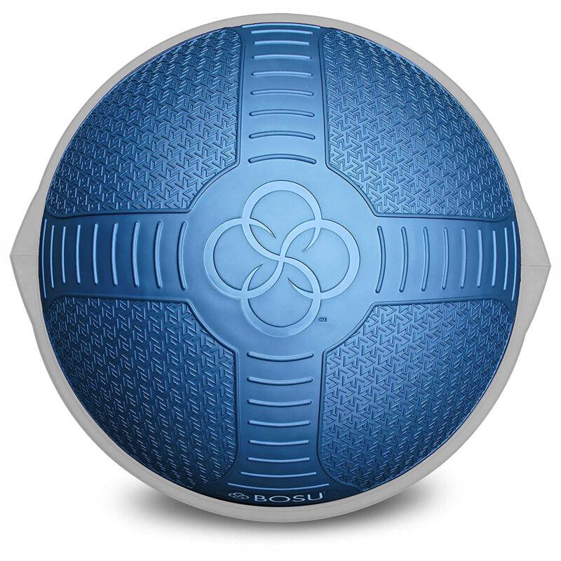 Bosu Pro NexGen Fitness Exercise Gym Balance Trainer with Pump, Blue (Open Box)