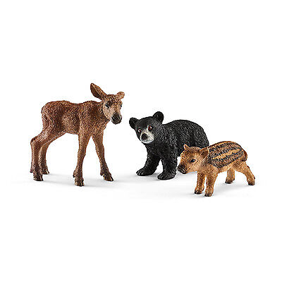 Schleich® Wild Life, 41457   Waldtierbabies, NEU & OVP