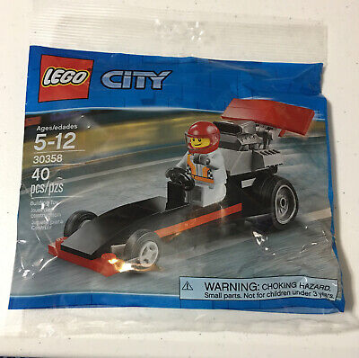 Lego City Dragster 30358 40 Pieces NEW