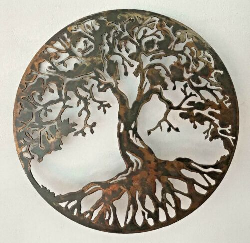 Tree of life wall art wall decor metal sign handmade