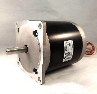 Mcg Is34009-1 Nema 34 Stepper Motor 388 Oz-in Hold. Torque 4.6a 1.8 Step